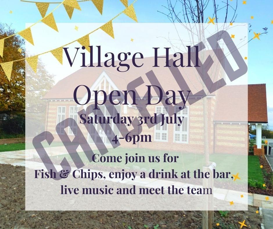 Village Hall Open Day Facebook Post (1)