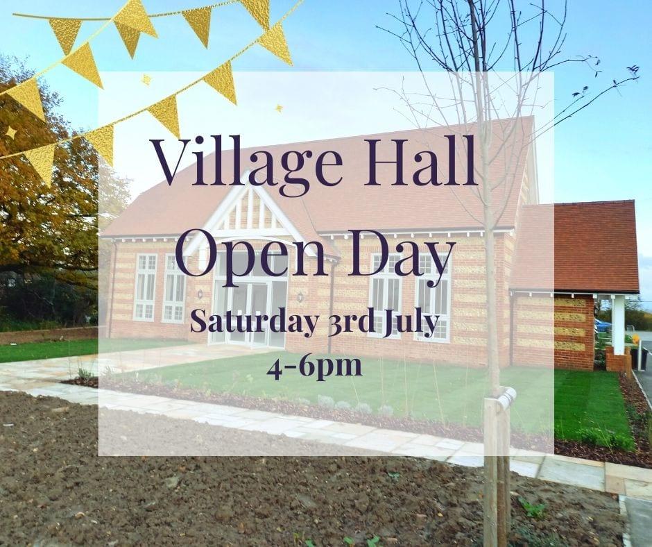 Village Hall Open day fb
