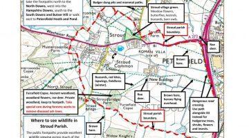 Stroud parish map with wildlife sites 26Nov2020-page-001